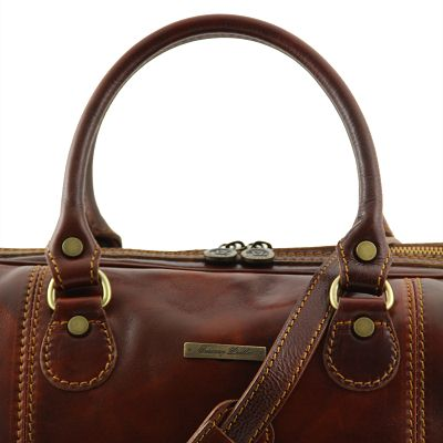 Handmade Italian Leather Weekend Bag (LBS516)
