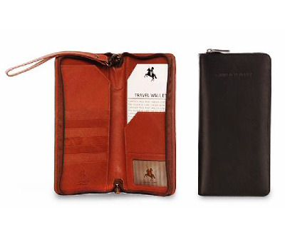 Essential Leather Travel Wallet (LBS954)