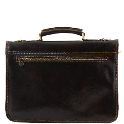 'Torino' Italian Handmade Leather Briefcase (LBS903)