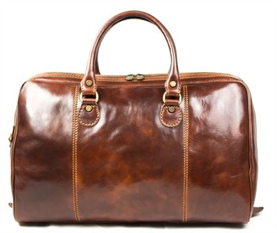 'Fillipo' Handmade Italian Leather Travel Bag (LBS908)