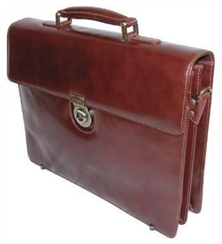 Classic Leather Briefcase (LBS026)
