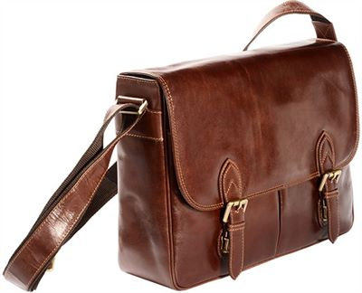 Vintage Style Leather Laptop Bag (LBS990)