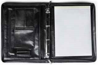 Zipped Portfolio with Ringbinder (LBS507)