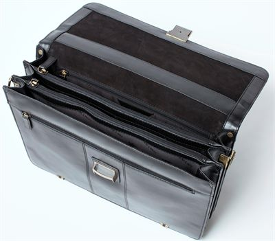 Leather Organiser Briefcase (LBS058)