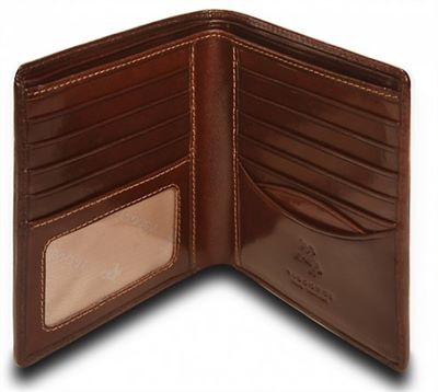Men's Italian Brown Leather Wallet (LBS558)
