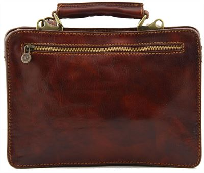 'Tania'  Italian Leather Ladies Handbag - medium size (LBS589)