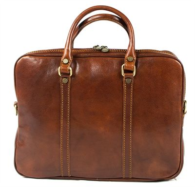 'Baccino' Handmade Italian Leather Business Case (LBS614)