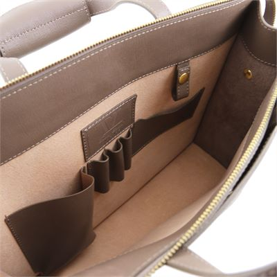 'Palermo' Handmade Saffiano Leather Case by Tuscany Leather (LBS617)