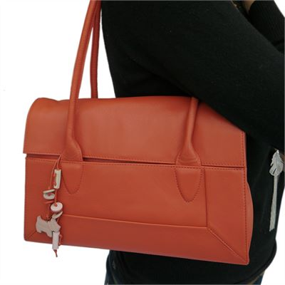 Radley Border Style Leather Shoulder Bag (LBS630)