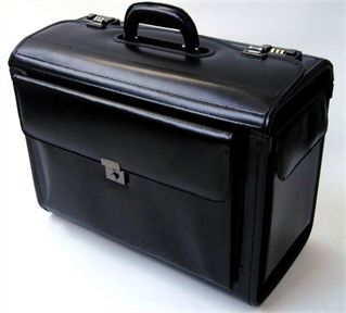 Leather Pilot Case (LBS640)