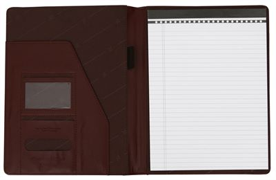 'Lori' Leather Conference Folder (LBS644)