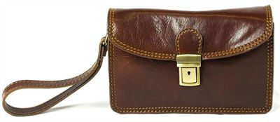 Leather Wrist Bag (LBS649)