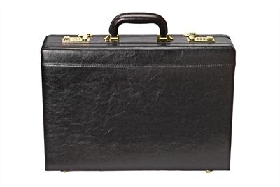 Expanding Attache Case in Faux Leather (LBS650)