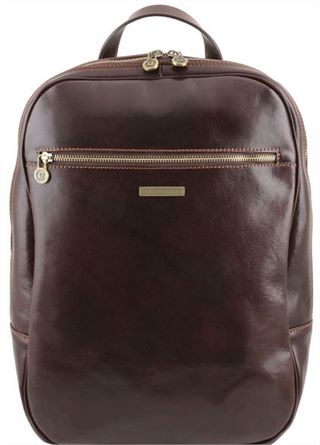 Handmade Italian Leather Backpack by Tuscany Leather (LBS662)