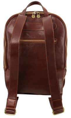 Handmade Italian Leather Backpack by Tuscany Leather(LBS663)