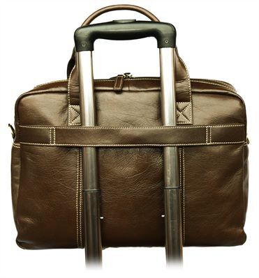Leather Laptop Case (LBS673)