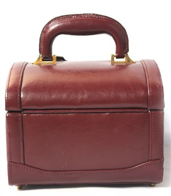 Compact Leather Vanity Case (LBS686)