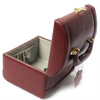 Compact Leather Vanity Case (LBS687)