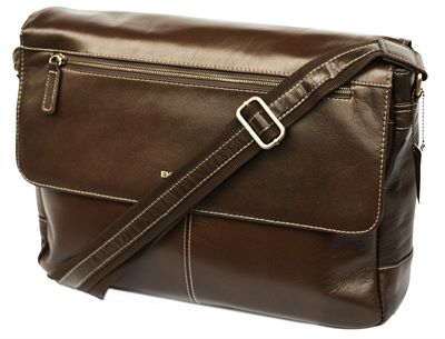Large Leather Messenger Bag (LBS699)