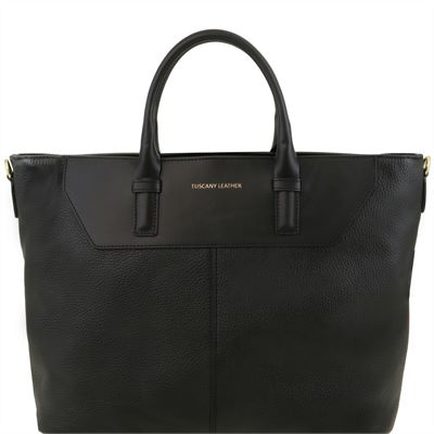 Soft Italian Leather Bag (LBS656)