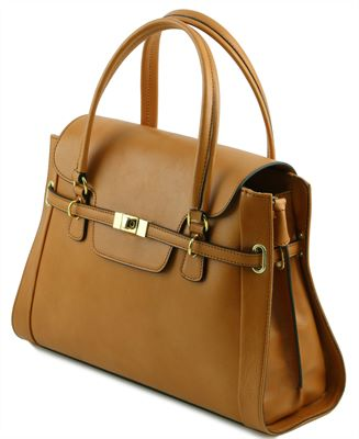 Neoclassic Handmade Italian Leather Bag by Tuscany Leather (LBS582)