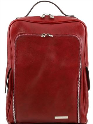 'Bangkok' Handmade Italian Leather Laptop Backpack  (LBS834)