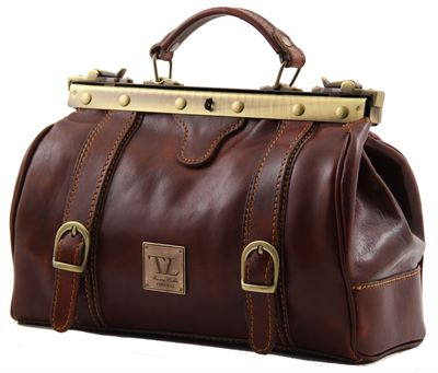 'Monalisa' Leather Bag by Tuscany Leather (LBS836)