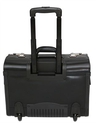 Wheeled Leather Pilot Case (LBS618)