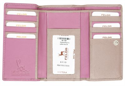 Ultimate Organiser Leather Wallet (LBS860)