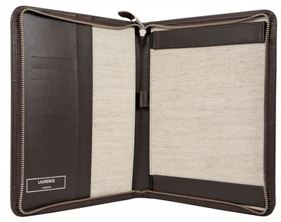 The 'Regent' Premium Leather iPad Case by Laurence London (LBS844)