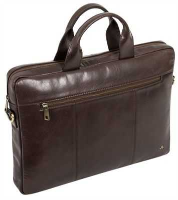 Slimline Leather Laptop Case (LBS873)