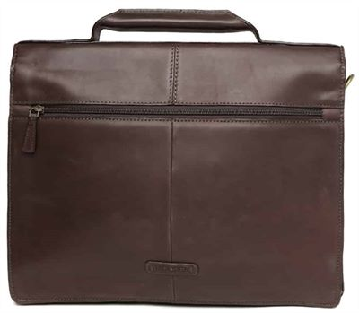 Premium Handcrafted Leather Briefcase (LBS403)