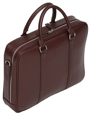 Twin Handle Leather Business Bag (LBS894)
