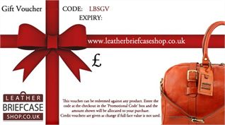 Gift Vouchers - Leather Briefcase & Bag Shop (LBS594)