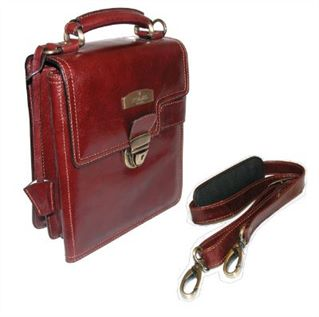 Leather Shoulder or Carry Bag (LBS512)