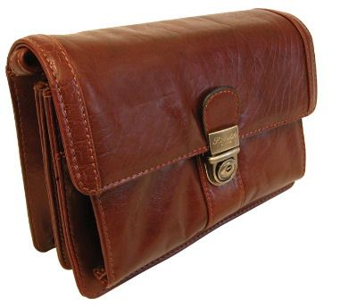 Leather Wrist Bag (LBS648)